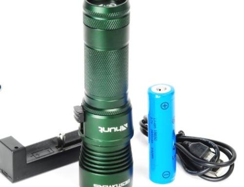 LAMPADA X-Hunt ricaricabile PROMO euro 55,00