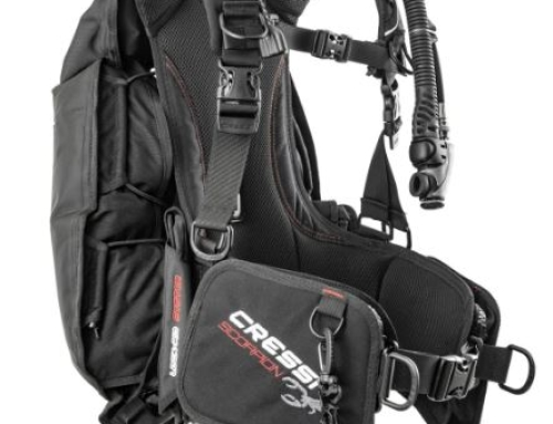NEW JACKET CRESSI SUB SCORPION